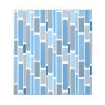 azul retro blocs de notas