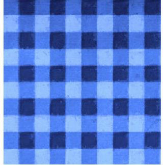 Azul retro de la guinga escultura fotografica