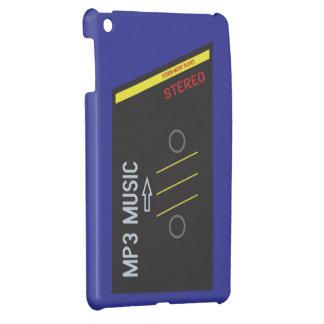 AZUL retro del reproductor de casete iPad Mini Cárcasas