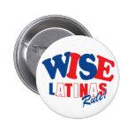 azul rojo del botón sabio de Latina del sotomayor