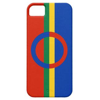 Azul rojo del círculo nórdico en el iPhone 5 de la iPhone 5 Case-Mate Carcasas