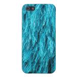 Azul romántico oscuro iPhone 5 coberturas