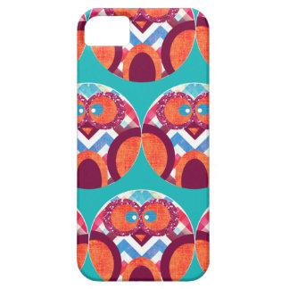Azul rosado anaranjado púrpura colorido de Chevron iPhone 5 Protector