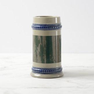 Azul rústico jarra de cerveza