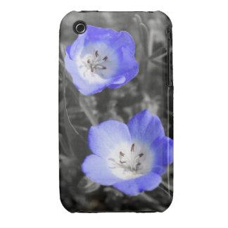 Azul salvaje iPhone 3 carcasas