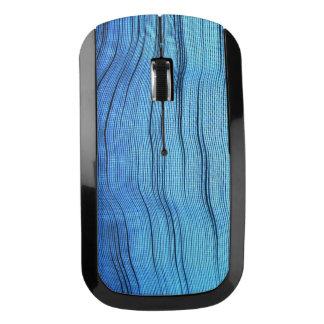 Azul salvaje ratón inalámbrico