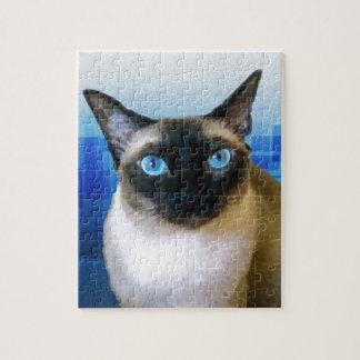 Azul siamés puzzle