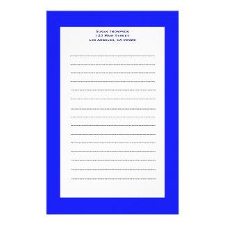 azul simple papeleria