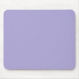 Azul sólido de la lavanda alfombrillas de ratón