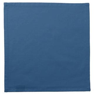 Azul sólido de Mónaco Servilletas