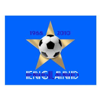 Azul StarGift de los ganadores de la taza del oro Tarjetas Postales