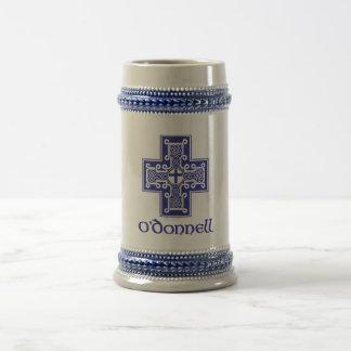 Azul Stein del logotipo de O'Donnell Tazas