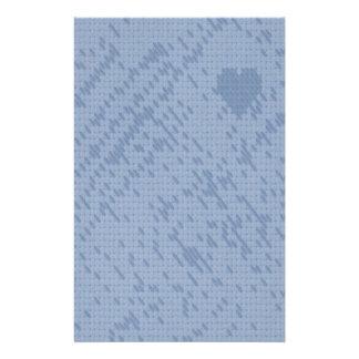 azul suave de la puntada - amor papeleria personalizada
