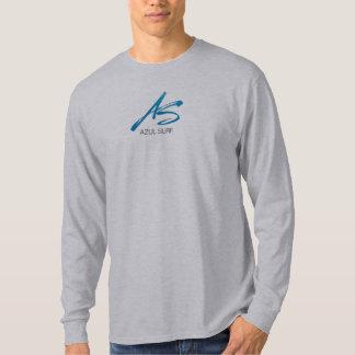 azul surf brush logo - twice the flavor t shirt