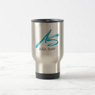 Azul Surf Brush Style Travel Mug