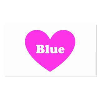 Azul Plantillas De Tarjetas Personales