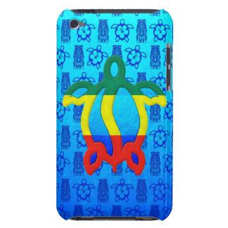 Azul Tiki de Rasta Honu Case-Mate iPod Touch Fundas