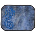 Azul tribal del dragón 3