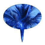 Azul tropical figuras para tartas