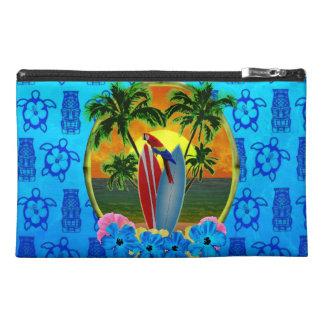 Azul tropical Tiki de la puesta del sol