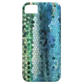 azul-trullo mosaico-Blackberry-iphone de la caja d iPhone 5 Case-Mate Cárcasa