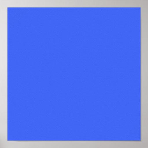 Azul ultramarino póster