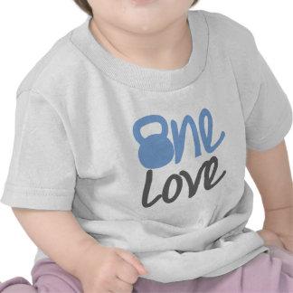 """Azul """"un amor """" camisetas"""