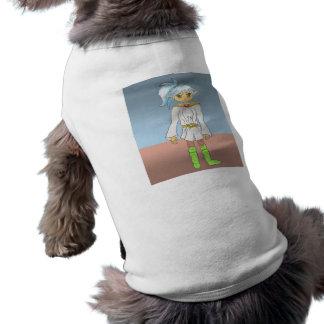 Azul, un carácter de la galería de arte del animad playera sin mangas para perro