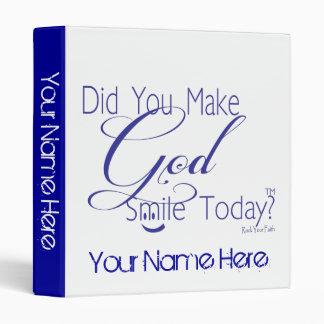 """Azul usted hizo que dios sonríe hoy lazo cristiano carpeta 1"""""""