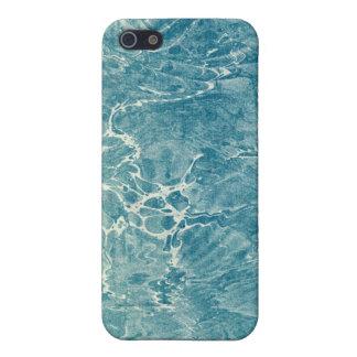 Azul veteado iPhone 5 cobertura