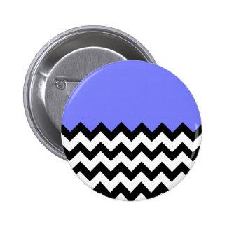 Azul-Violeta-En-Negro-y-Blanco-Zigzag-Modelo Pins