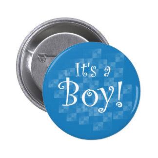Azul y blanco es un muchacho pin