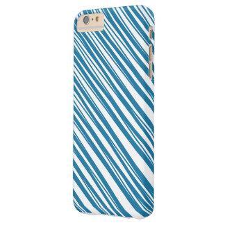 Azul y caso modelado blanco del iPhone 6/6s Funda Para iPhone 6 Plus Barely There