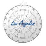 Azul y gris de Los Ángeles Tabla Dardos