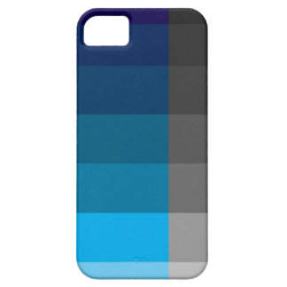 Azul y gris iPhone 5 cobertura