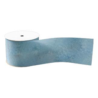 Azul y gris soñadores lazo de tela gruesa