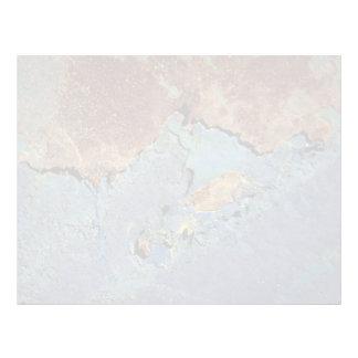 Azul y moho hermosos de Brown (tiro por satélite) Membrete Personalizado