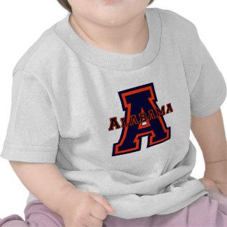Azul y naranja de Alabama A Camiseta