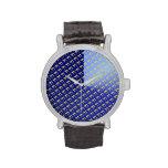 Azul y oro Chai Reloj De Mano