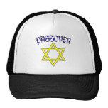 Azul y oro del Passover Gorra