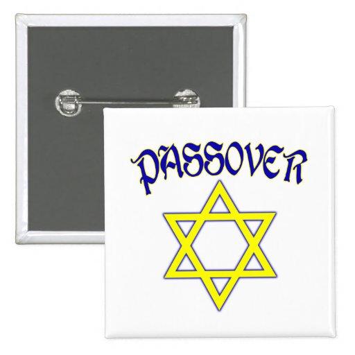Azul y oro del Passover Pin