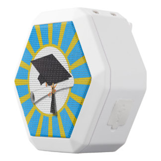Azul y oro (ENFOQUE de los colores de la escuela Altavoces Bluetooth Blancos Boombot REX