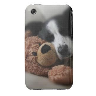 Azul y oso carcasa para iPhone 3