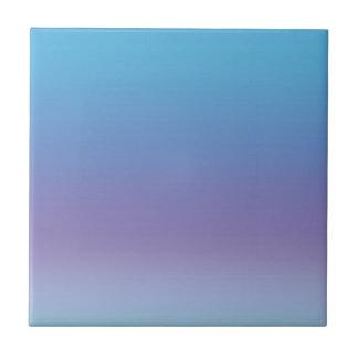 Azul y púrpura de la pendiente azulejo cuadrado pequeño