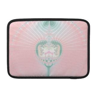 Azul y rosa funda para macbook air