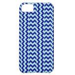 Azul Zigzag-Pálido ancho simple y azules marinos d