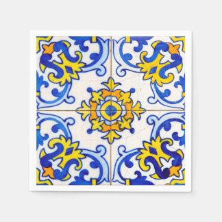 Azulejo Art Tile Napkin