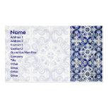 Azulejo Business Card Template