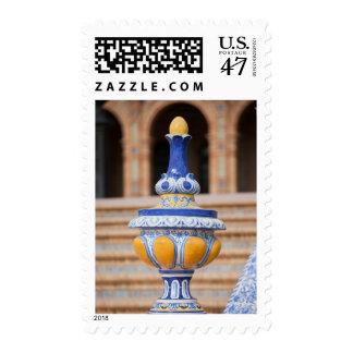 Azulejo Glazed Finial Postage