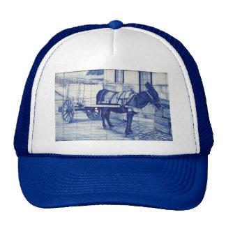 Azulejo mural trucker hat